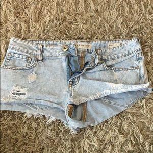 super cute PacSun jean shorts